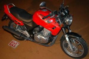 Motorrad mieten CB 500