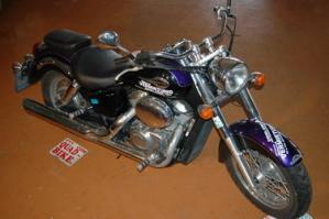Motorrad mieten Honda Shadow 750
