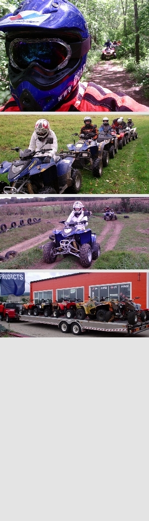 Quad Touren auch Firmenevent