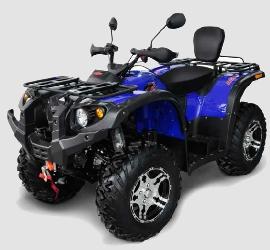 Hisun 500 EFI Quad/ATV