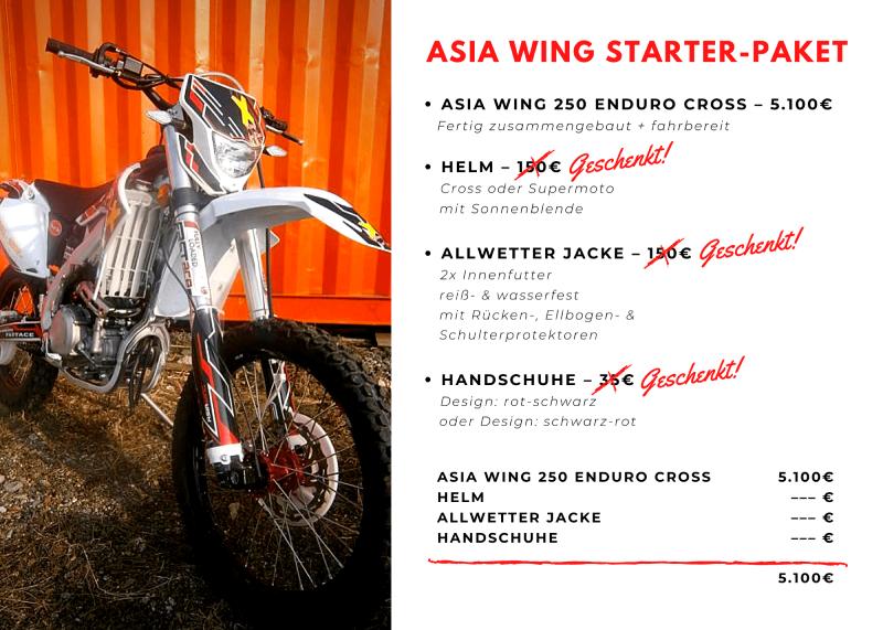 asia wing, motocross, moped, jugendmoped, jugendmotocross, motocross jugend, paket, aktion, motocross aktion, enduro aktion, asia wing aktion, asia wing aktionen, gratis,