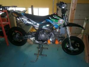 Bild von Dirtbike Diesel Shop Rennversion